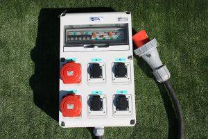 Alquiler de material para montaje eléctrico eventual